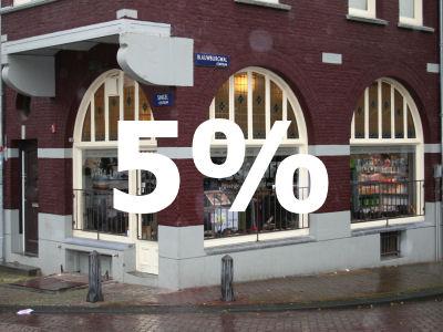 5% korting voor Goede klanten