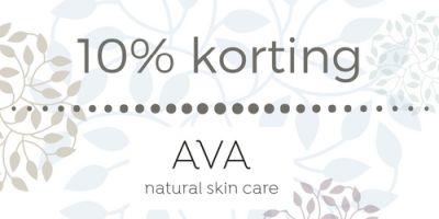 De Goede Gids - 10% korting op AVA natural skin care